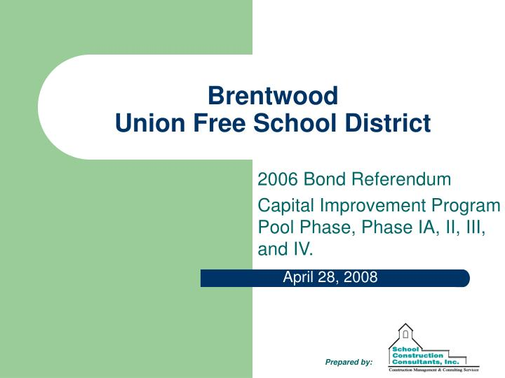 Brentwood union free school district