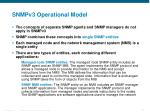 snmpv3 operational model1