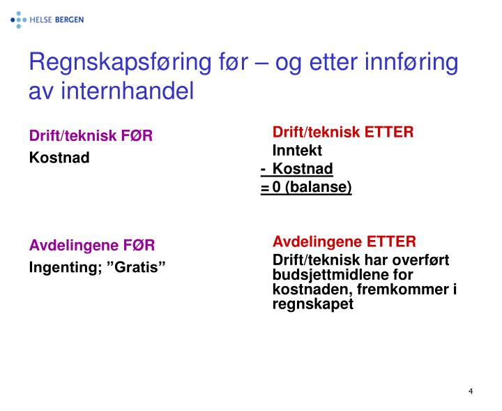 Drift/teknisk FØR