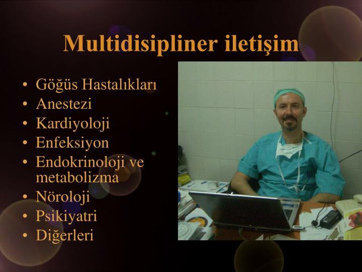 Multidisipliner iletişim