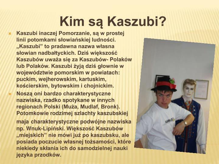 Kim są Kaszubi?