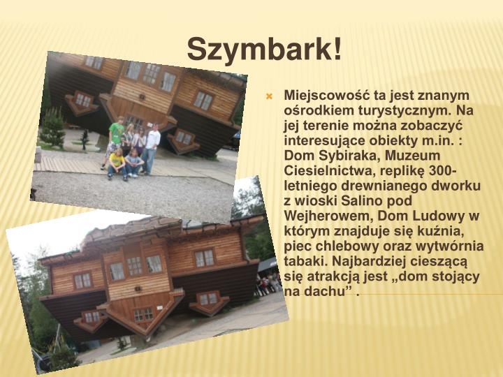 Szymbark!