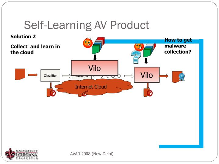 Self-Learning AV Product