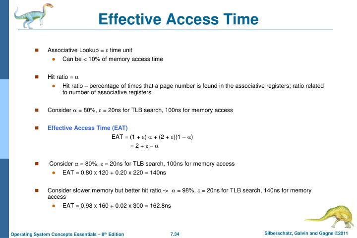 Effective Access Time