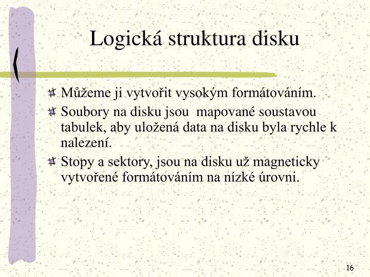 Logická struktura disku