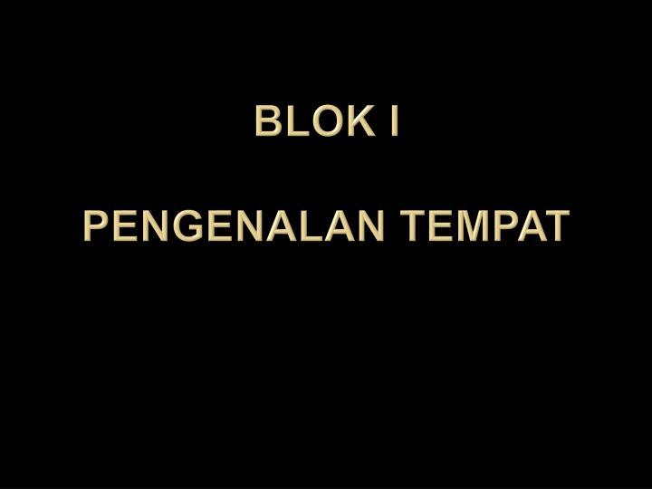 Blok i