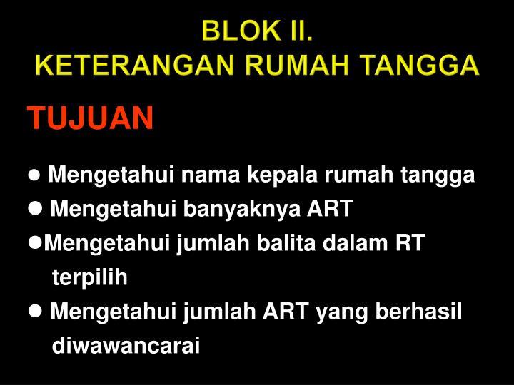 BLOK II.