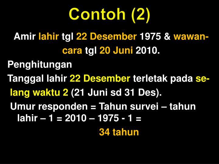 Contoh (2)