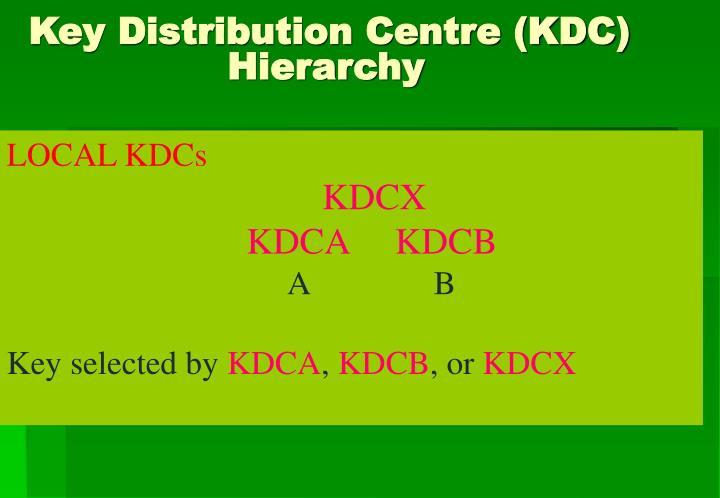 LOCAL KDCs