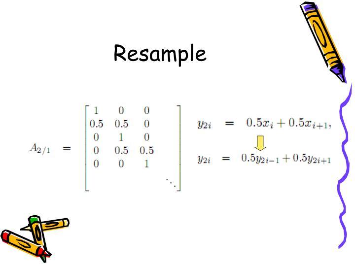 Resample