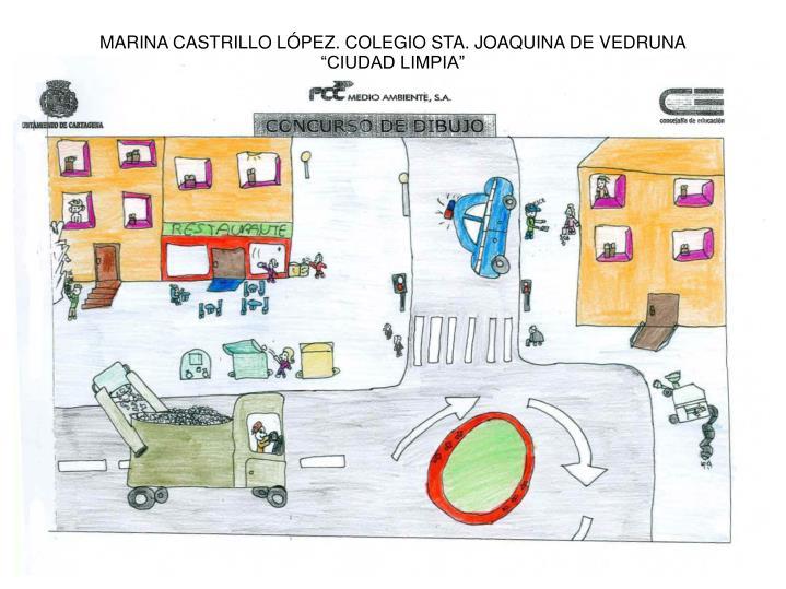 MARINA CASTRILLO LÓPEZ. COLEGIO STA. JOAQUINA DE VEDRUNA