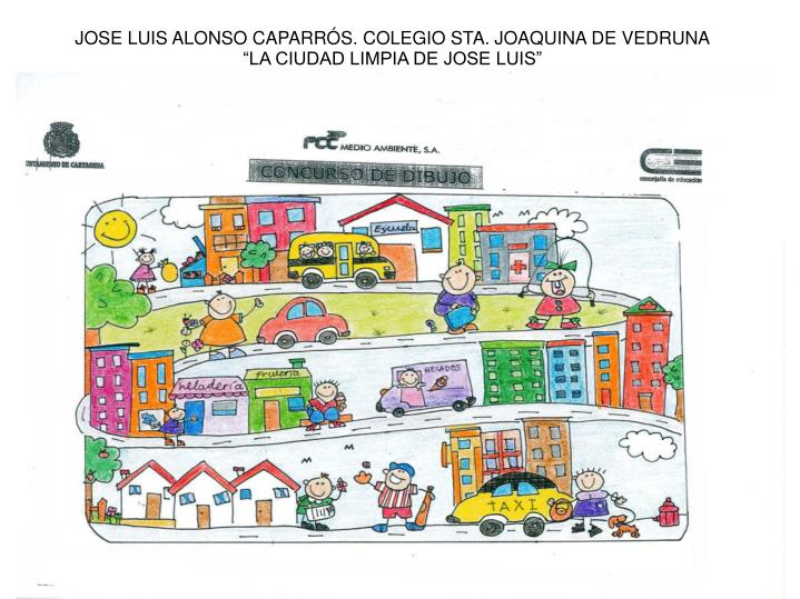 JOSE LUIS ALONSO CAPARRÓS. COLEGIO STA. JOAQUINA DE VEDRUNA