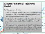 a better financial planning model9