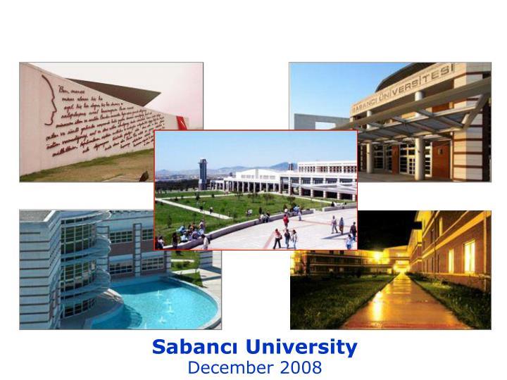Sabancı University