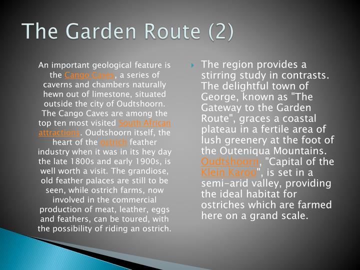The Garden Route (2)