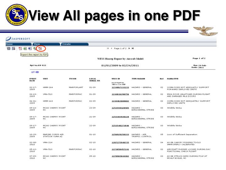 View All pages in one PDF