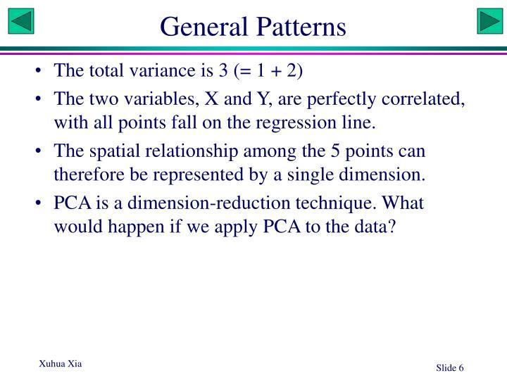 General Patterns