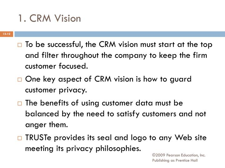 1. CRM Vision