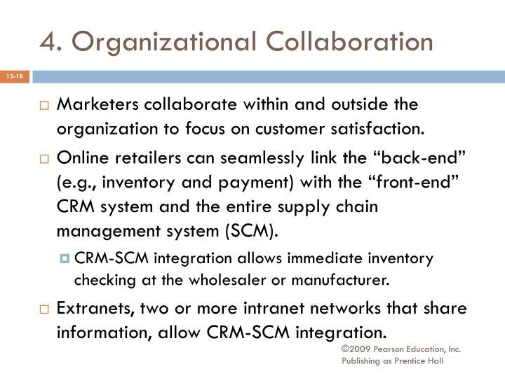 4. Organizational Collaboration