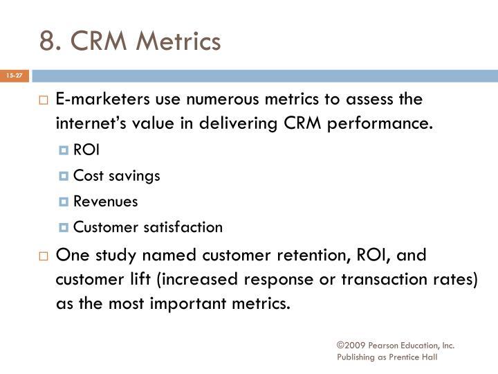 8. CRM Metrics