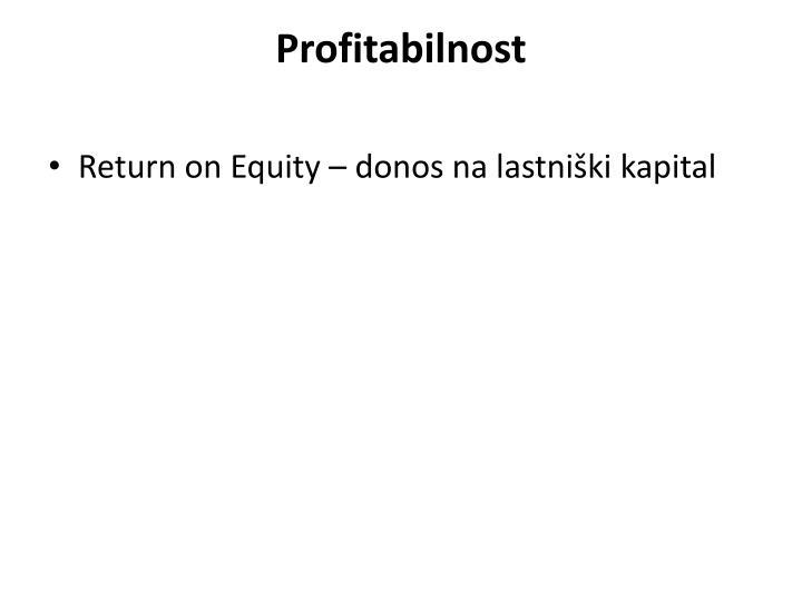 Profitabilnost