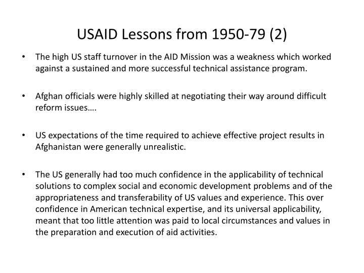 USAID Lessons from 1950-79 (2)