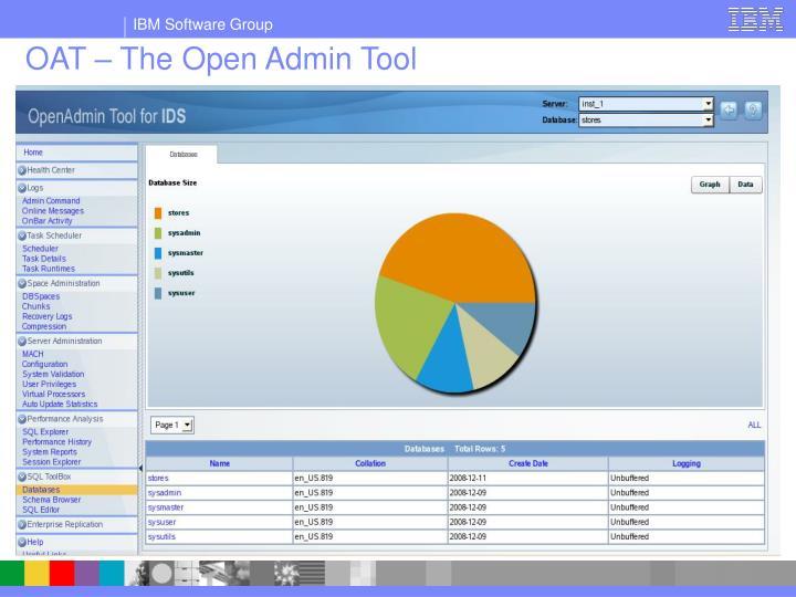 OAT – The Open Admin Tool