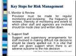 key steps for risk management1