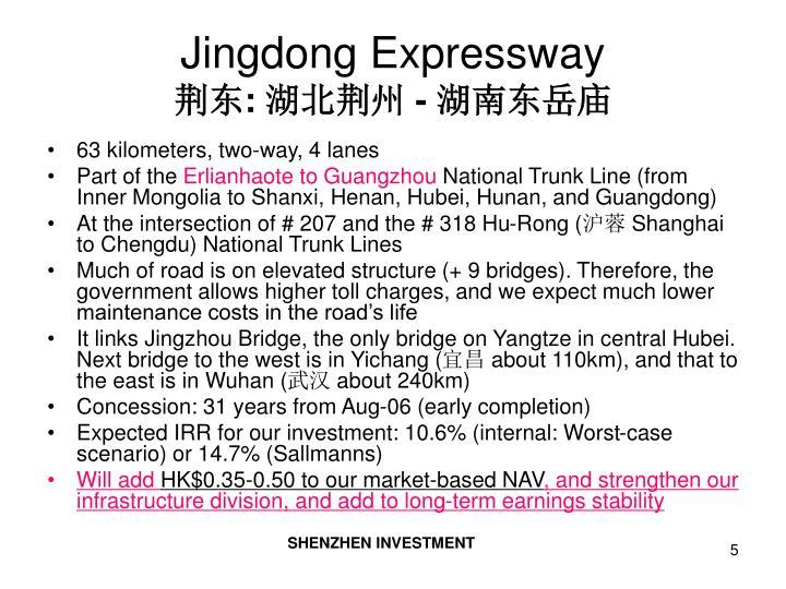 Jingdong Expressway