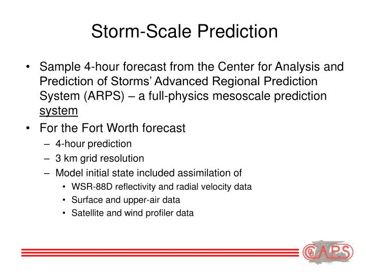 Storm-Scale Prediction