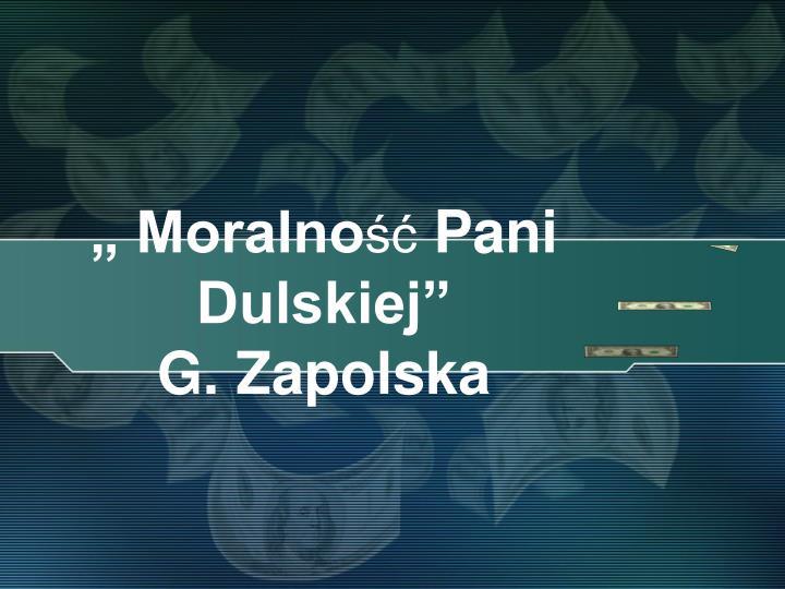 """"""" Moralno"""