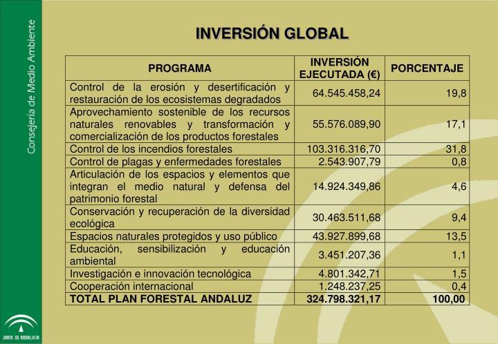 INVERSIÓN GLOBAL