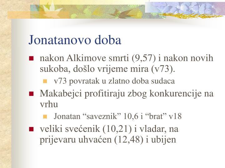 Jonatanovo doba