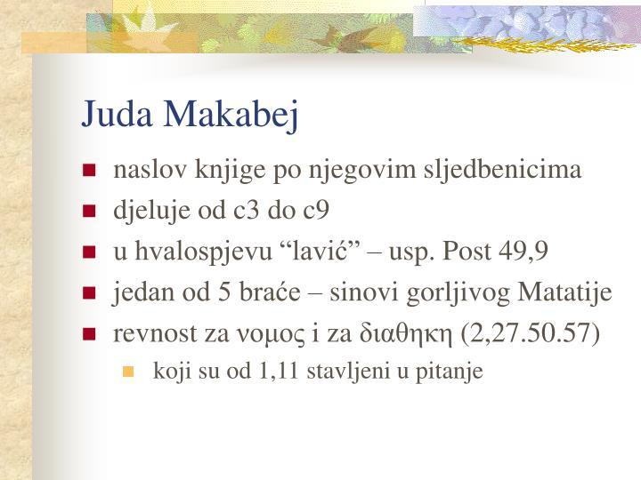Juda Makabej