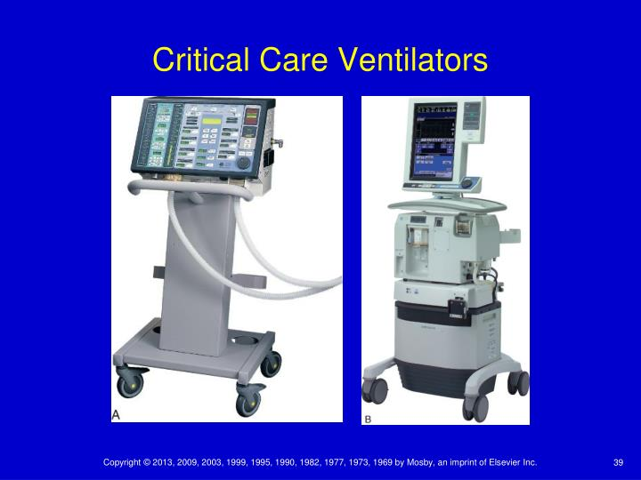 Critical Care Ventilators