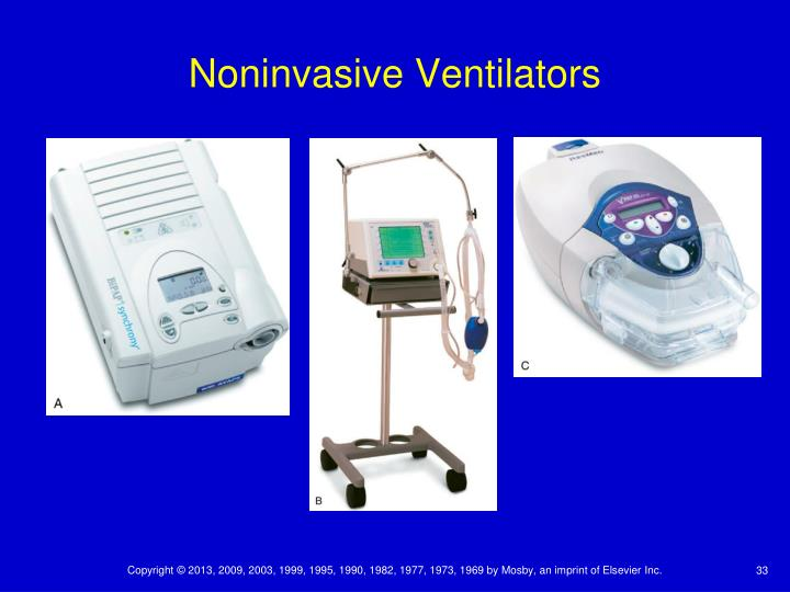 Noninvasive Ventilators