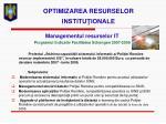 optimizarea resurselor institu ionale2