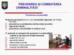 prevenirea i combaterea criminalit ii