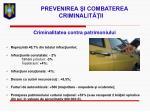 prevenirea i combaterea criminalit ii15