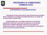 prevenirea i combaterea criminalit ii16
