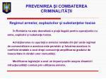 prevenirea i combaterea criminalit ii19