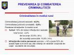 prevenirea i combaterea criminalit ii26