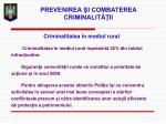 prevenirea i combaterea criminalit ii27