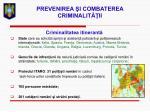 prevenirea i combaterea criminalit ii28