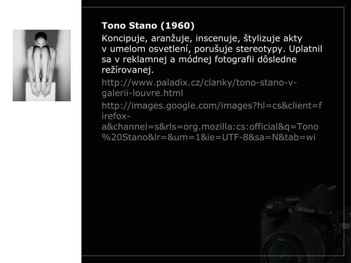 Tono Stano (1960)