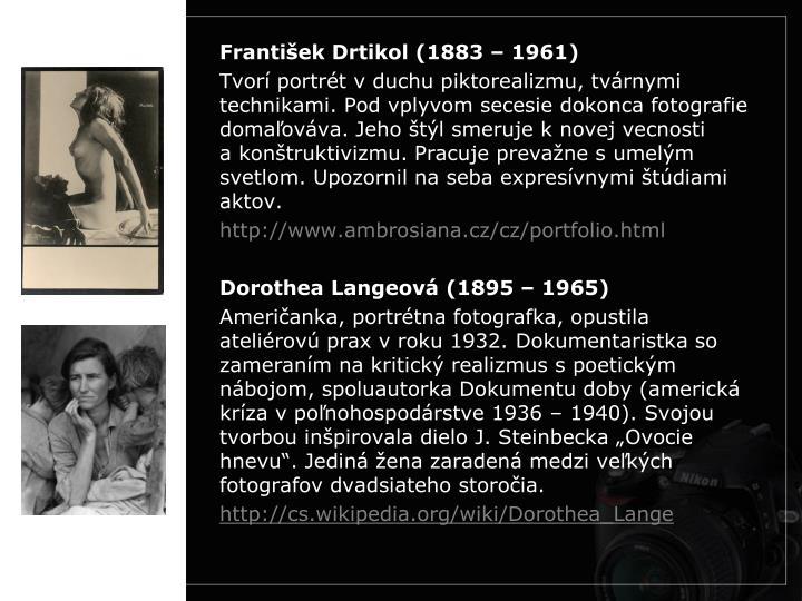 František Drtikol (1883 – 1961)