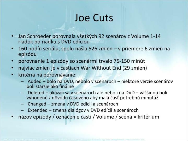 Joe Cuts