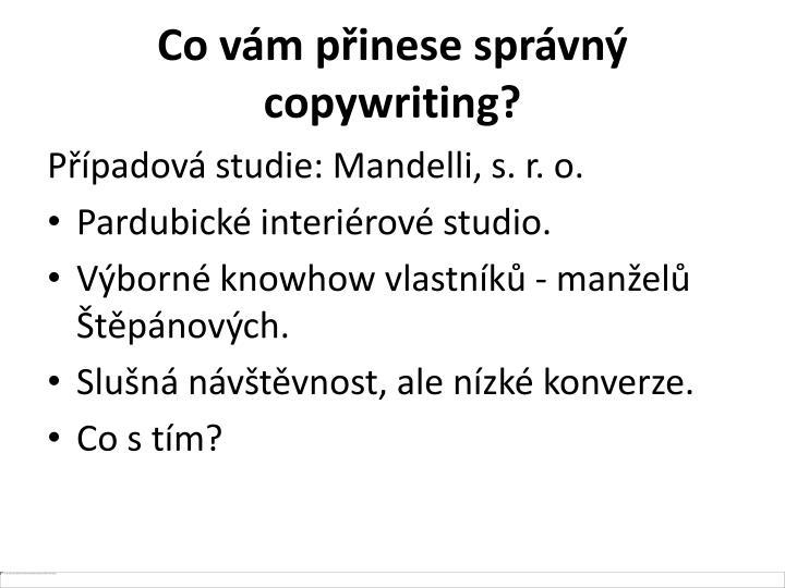 Co vám přinese správný copywriting?