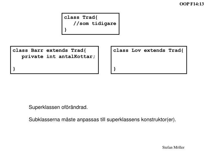 class Trad{