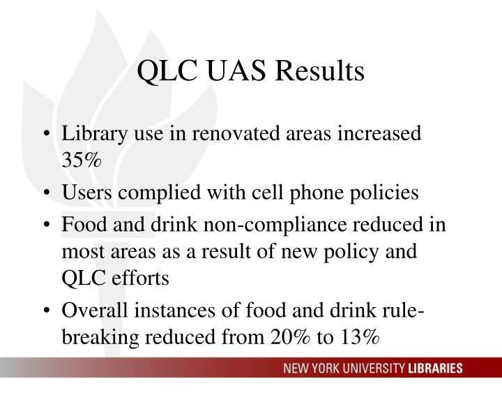 QLC UAS Results